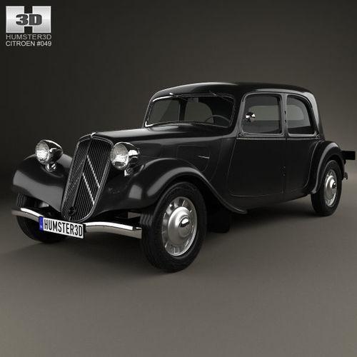 Citroen Traction Avant 1934 - 1957 Sedan #4
