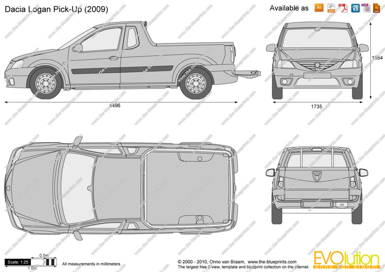 Dacia Logan I 2004 - 2012 Pickup #5