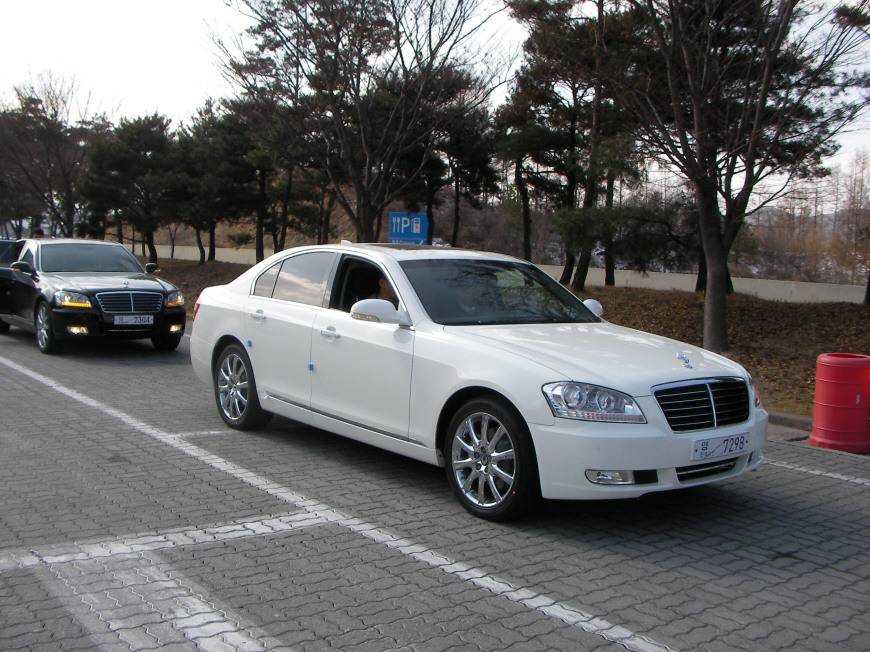 SsangYong Chairman II (W) 2008 - now Sedan #3