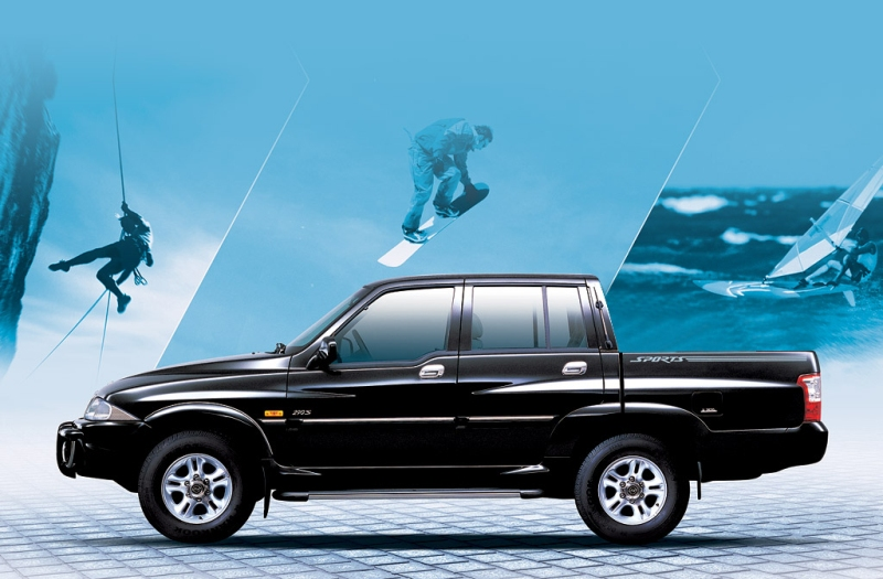 SsangYong Musso I Restyling 1998 - 2006 Pickup #4