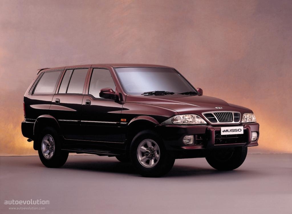 SsangYong Musso I 1993 - 1998 SUV 5 door #4