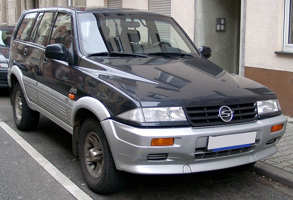 SsangYong Musso I Restyling 1998 - 2006 Pickup #8