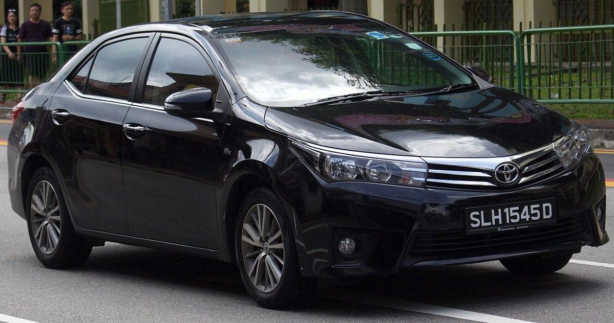 Toyota Corolla XI (E160, E170) Restyling 2015 - now Sedan #8