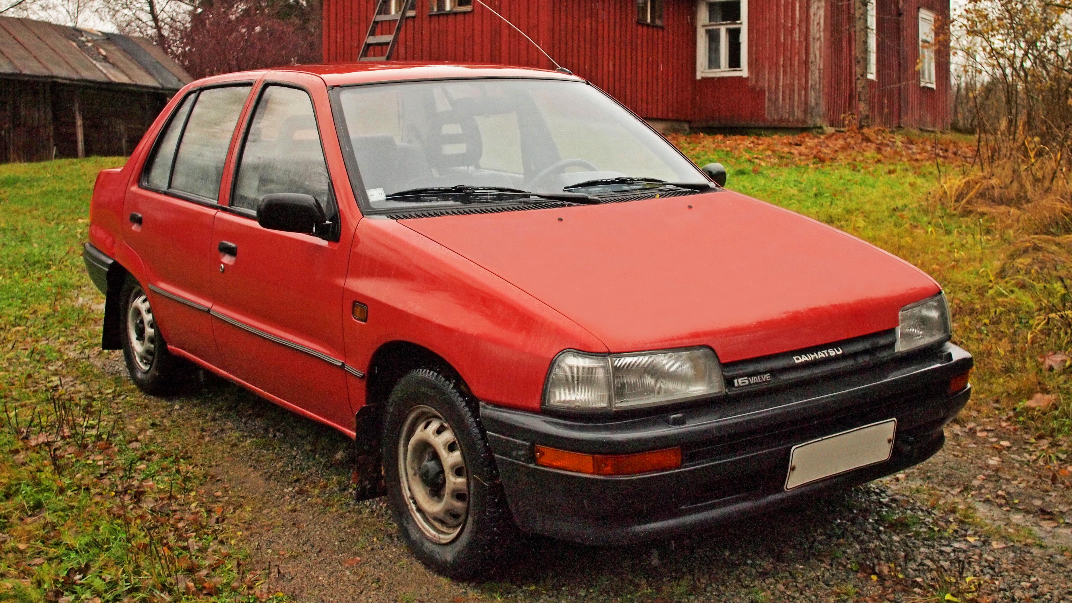 Daihatsu Applause I 1989 - 1997 Liftback #3