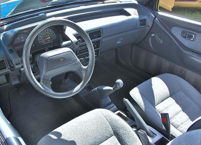 Daihatsu Applause I 1989 - 1997 Liftback #5