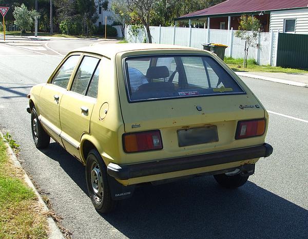 Daihatsu Charade I 1977 - 1983 Hatchback 3 door #4