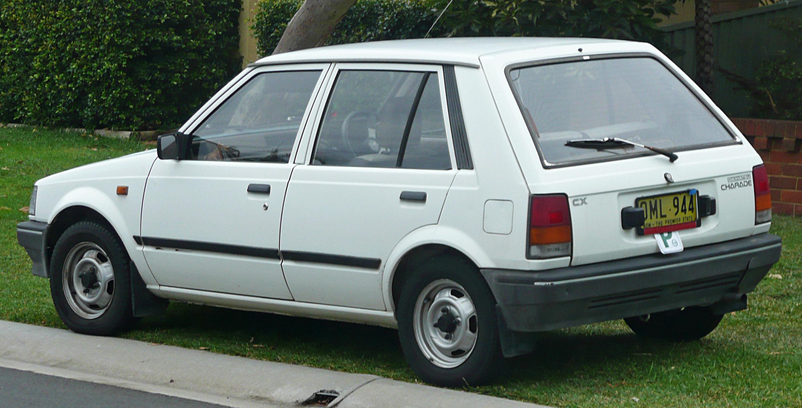 Daihatsu Charade I 1977 - 1983 Hatchback 3 door #2