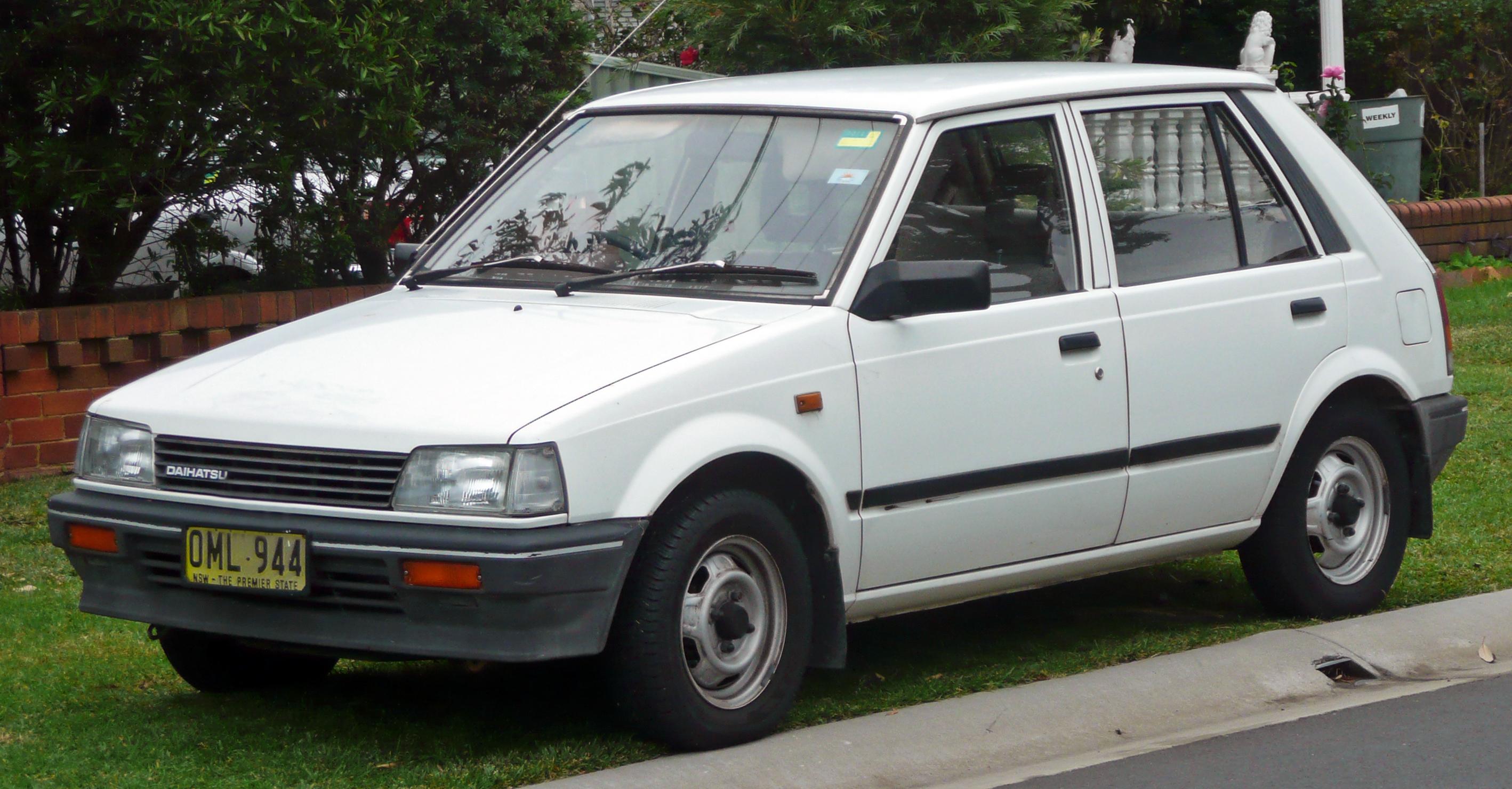 Daihatsu Charade I 1977 - 1983 Hatchback 3 door #1