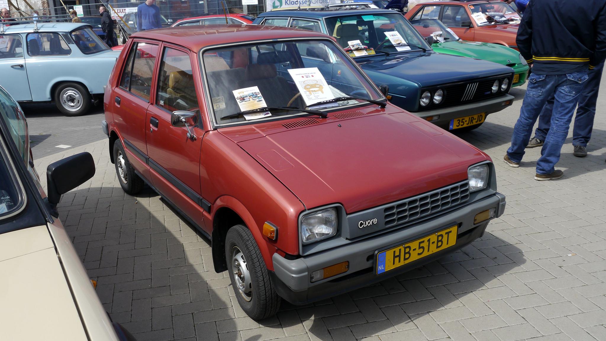 Daihatsu Cuore I (L55) 1980 - 1985 Hatchback 3 door ...
