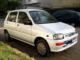 Daihatsu Mira V 1998 - 2002 Hatchback 3 door #6