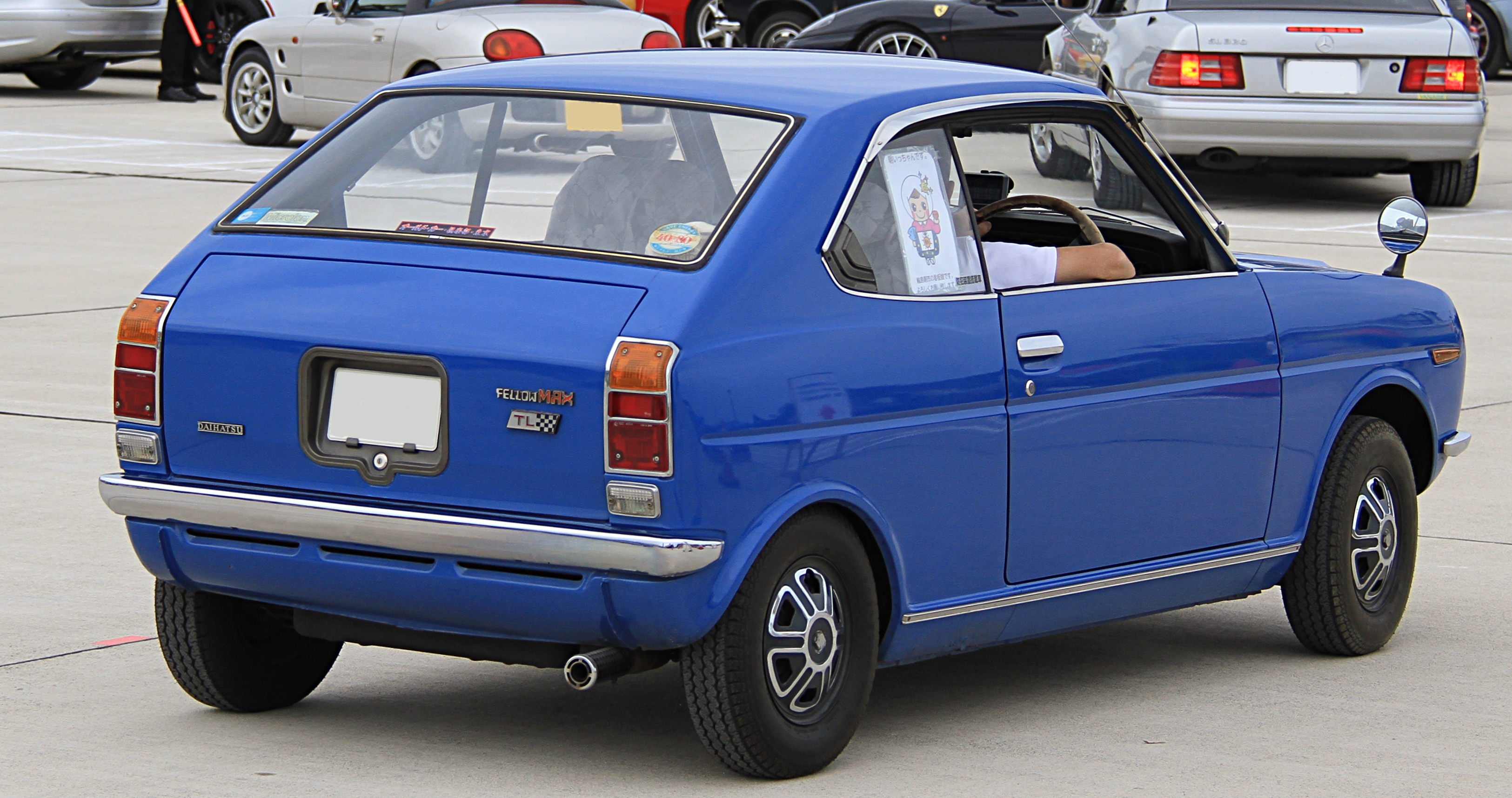 Daihatsu Fellow II (Max) 1970 - 1976 Coupe #4