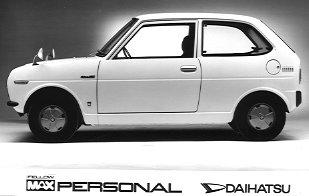 Daihatsu Fellow II (Max) 1970 - 1976 Sedan #2
