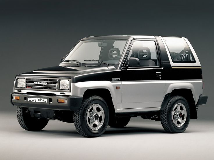 Daihatsu Feroza 1989 - 1999 SUV 3 door #2