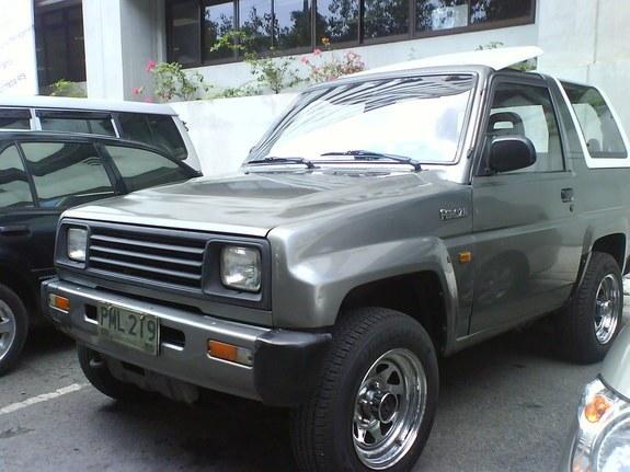 Daihatsu Feroza 1989 - 1999 SUV 3 door #6