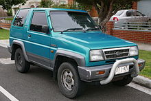 Daihatsu Feroza 1989 - 1999 SUV 3 door #3