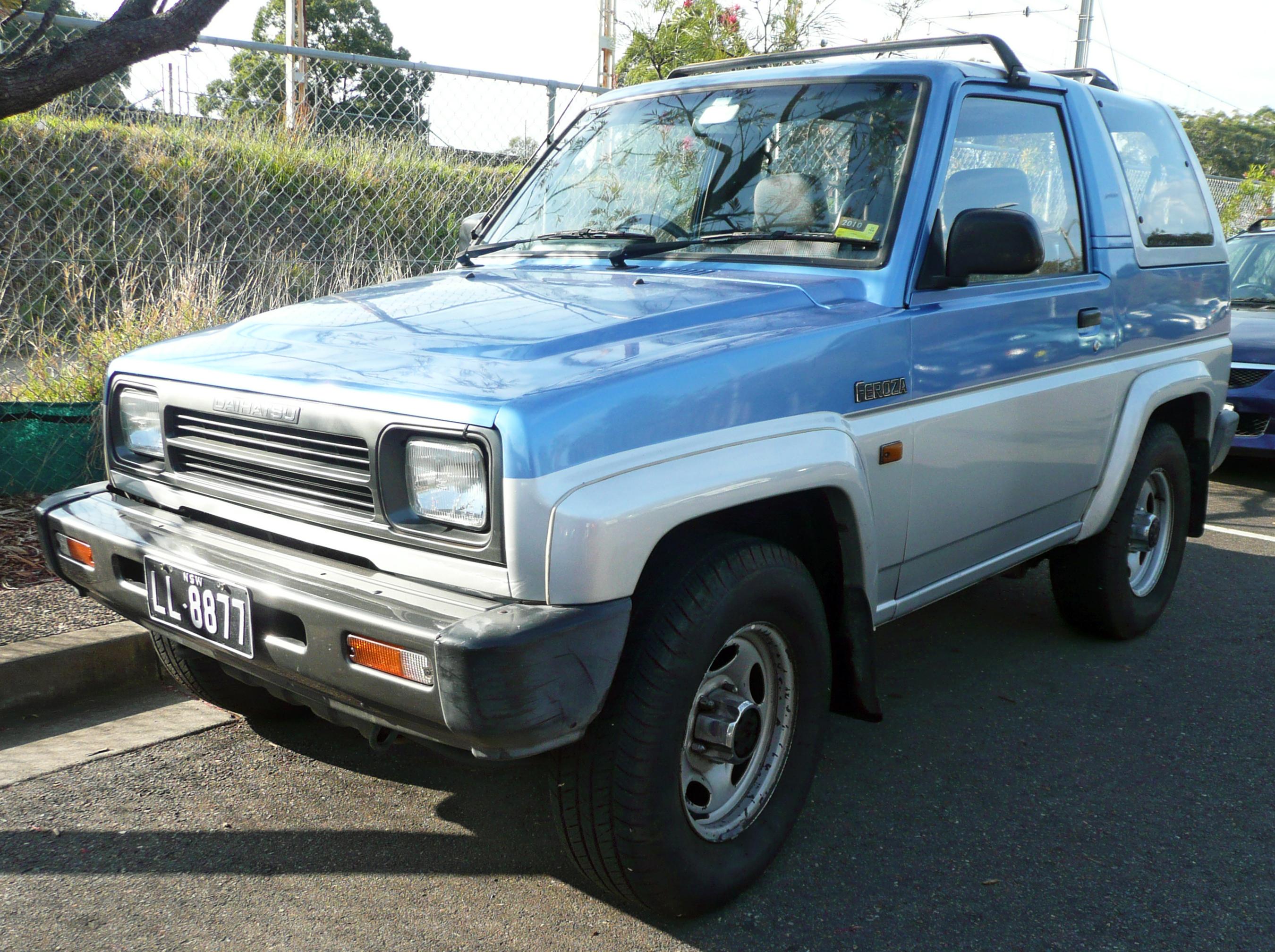 Daihatsu Feroza 1989 - 1999 SUV 3 door #4