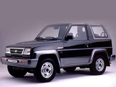 Daihatsu Feroza 1989 - 1999 SUV 3 door #8