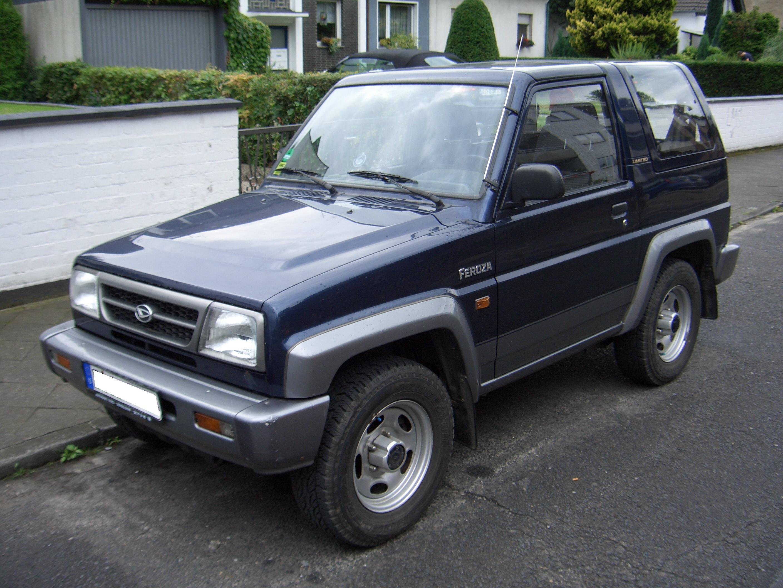 Daihatsu Feroza 1989 - 1999 SUV 3 door #5