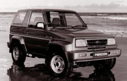 Daihatsu Feroza 1989 - 1999 SUV #6