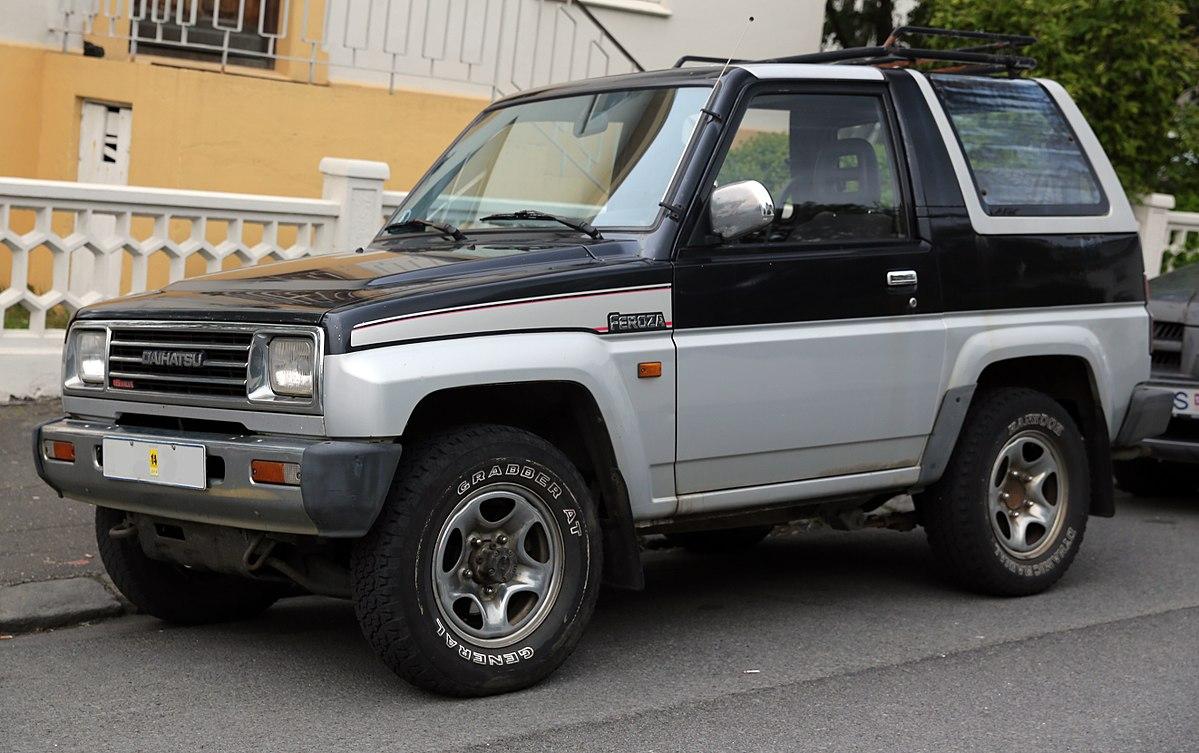 Daihatsu Feroza 1989 - 1999 SUV 3 door #7