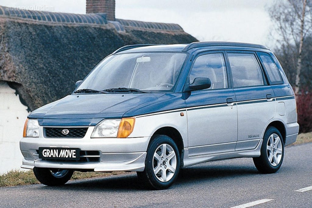 Daihatsu Pyzar I 1996 - 1998 Compact MPV #2