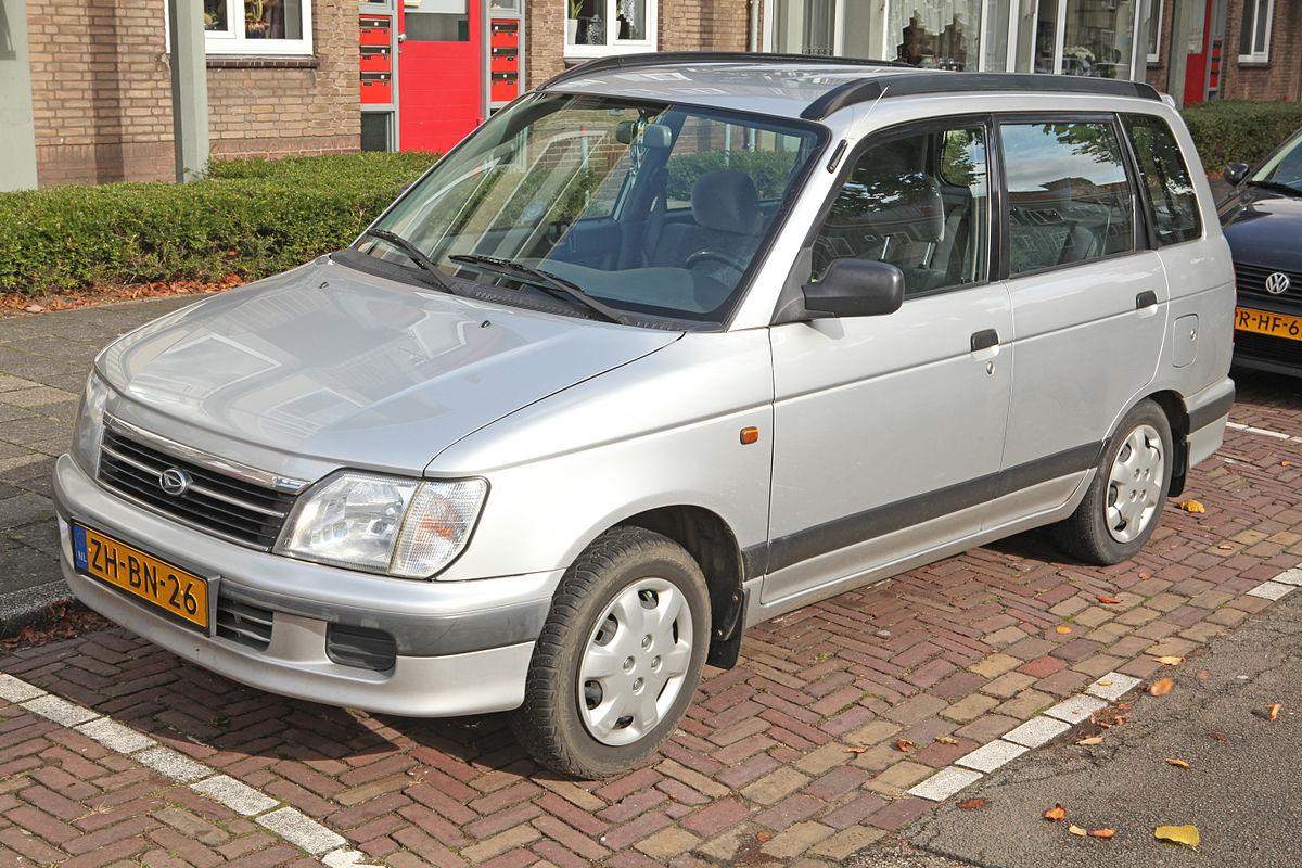 Daihatsu Pyzar I Restyling 1998 - 2002 Compact MPV #8