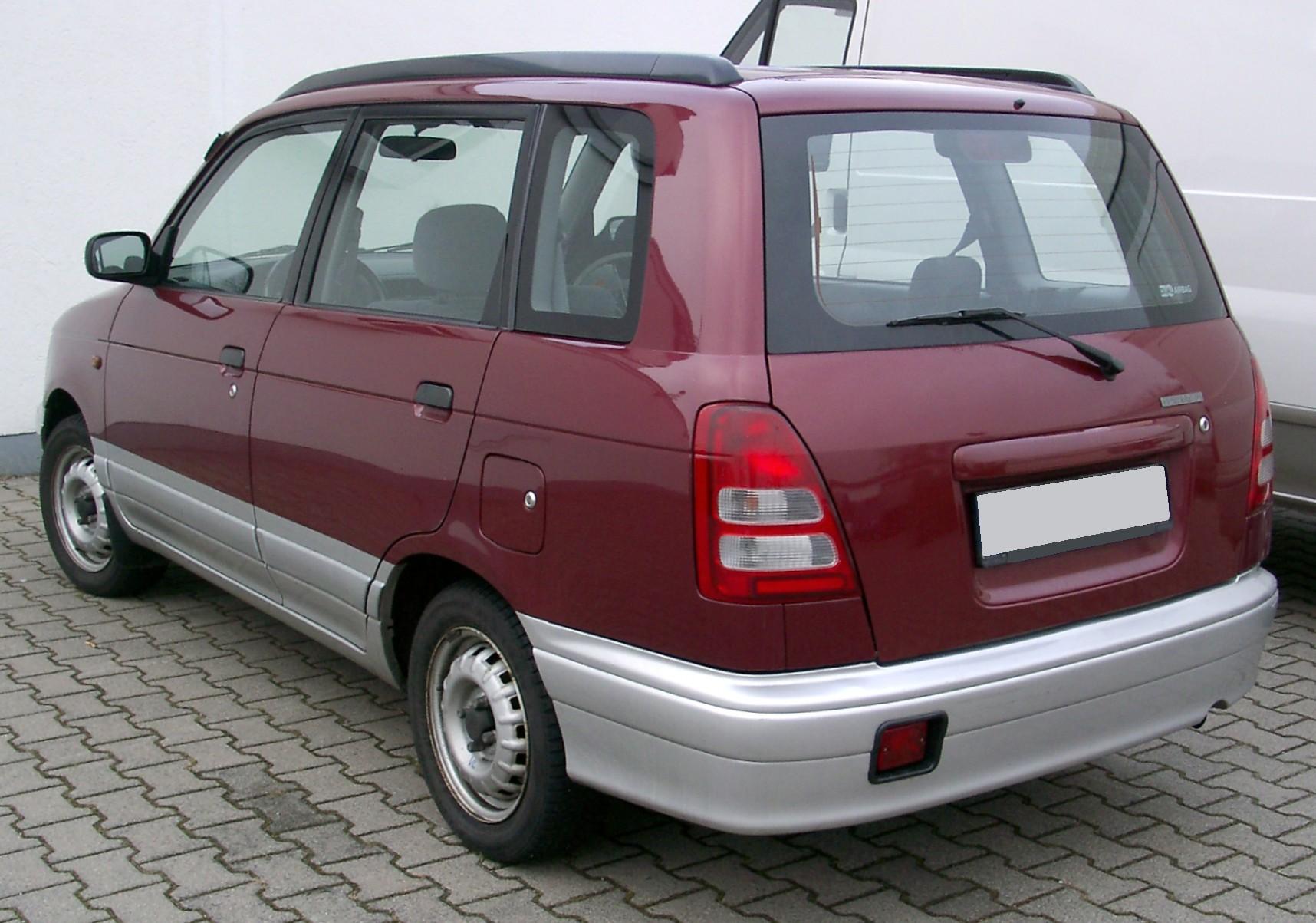 Daihatsu Gran Move 1996 - 2002 Compact MPV #7