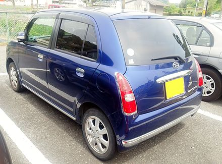 Daihatsu Mira Gino II 2004 - 2009 Hatchback 5 door #4