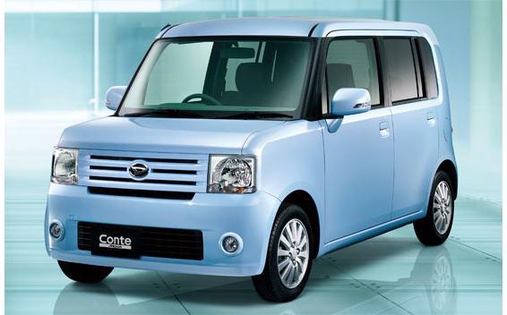 Daihatsu Move Conte I 2008 - 2011 Hatchback 5 door #1
