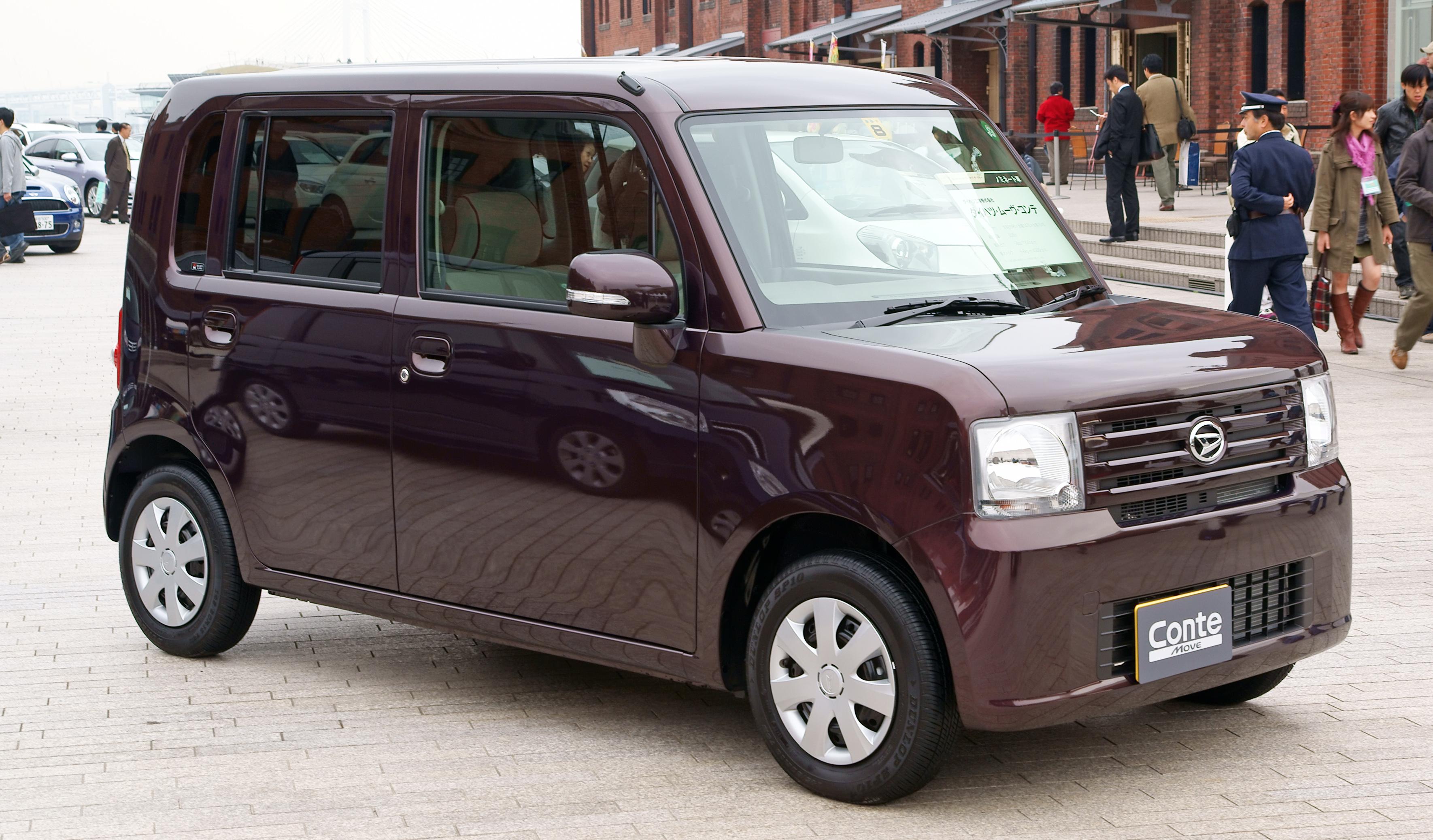 Daihatsu Move Conte I 2008 - 2011 Hatchback 5 door #2