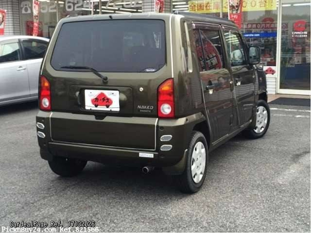 Daihatsu Naked 1999 - 2004 Microvan #4
