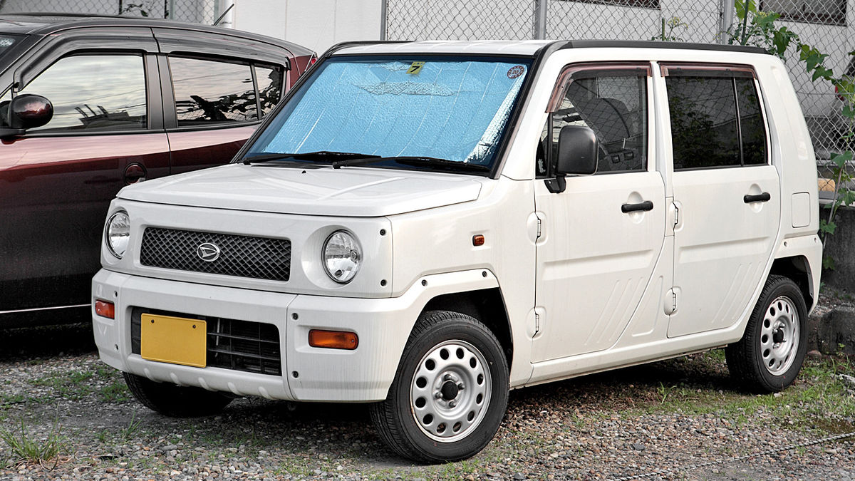 Daihatsu Naked 1999 - 2004 Microvan #7