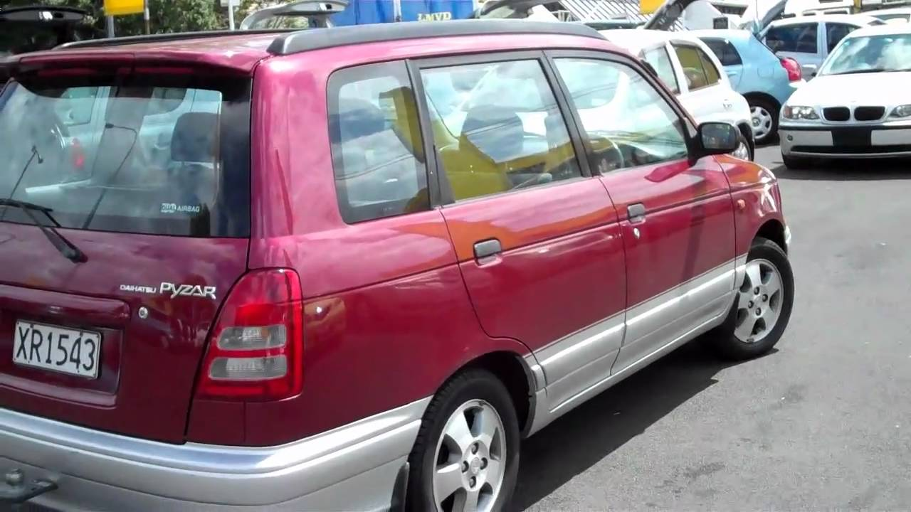 Daihatsu Pyzar I 1996 - 1998 Compact MPV #3
