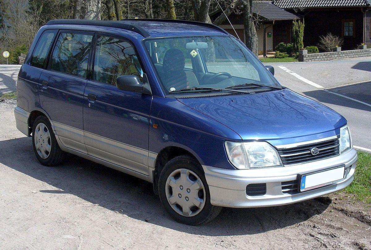 Daihatsu Pyzar I 1996 - 1998 Compact MPV #1