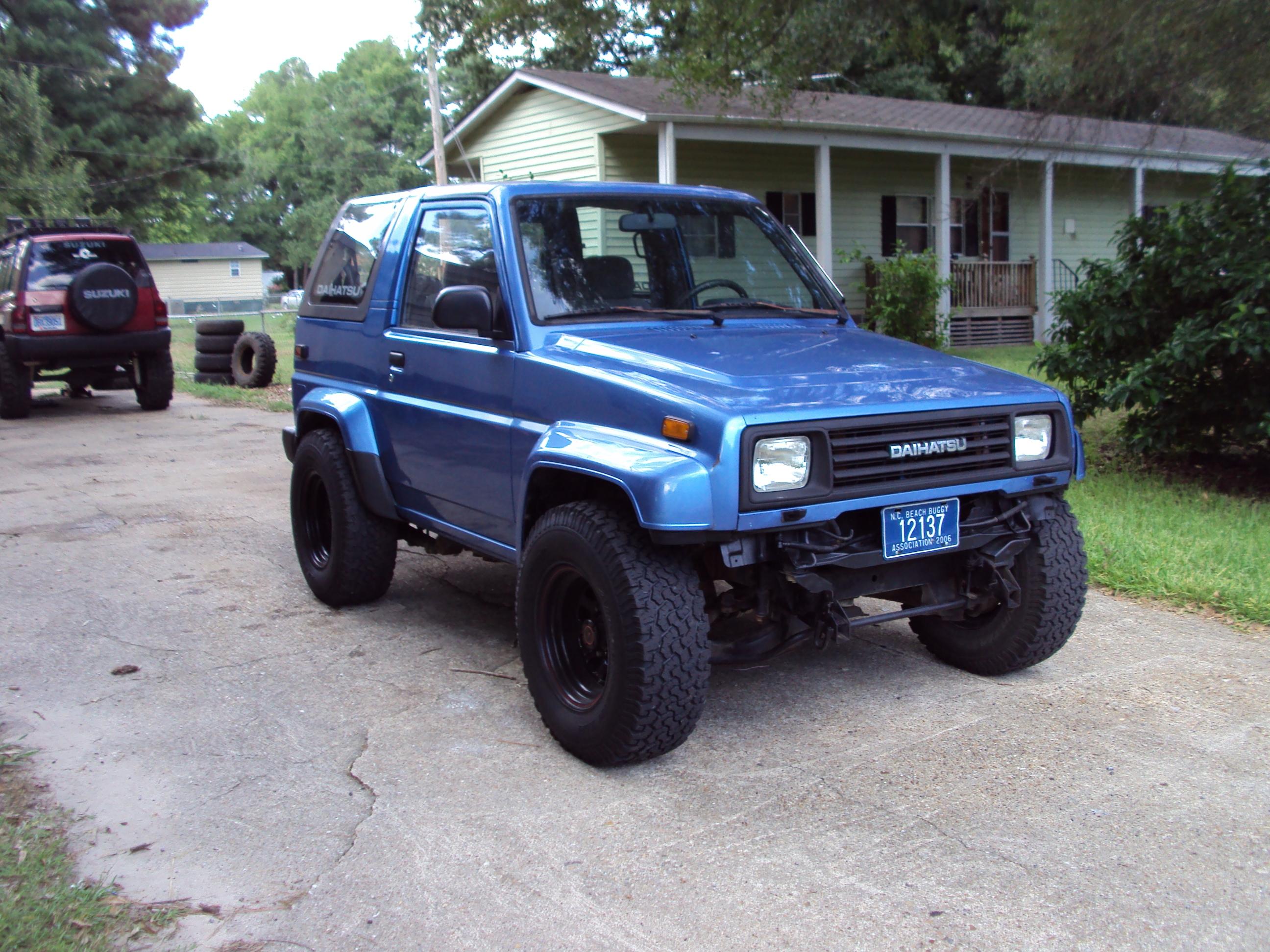 Daihatsu Rocky 1989 - 1998 SUV #3