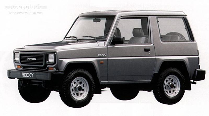 Daihatsu Rocky 1989 - 1998 SUV #5