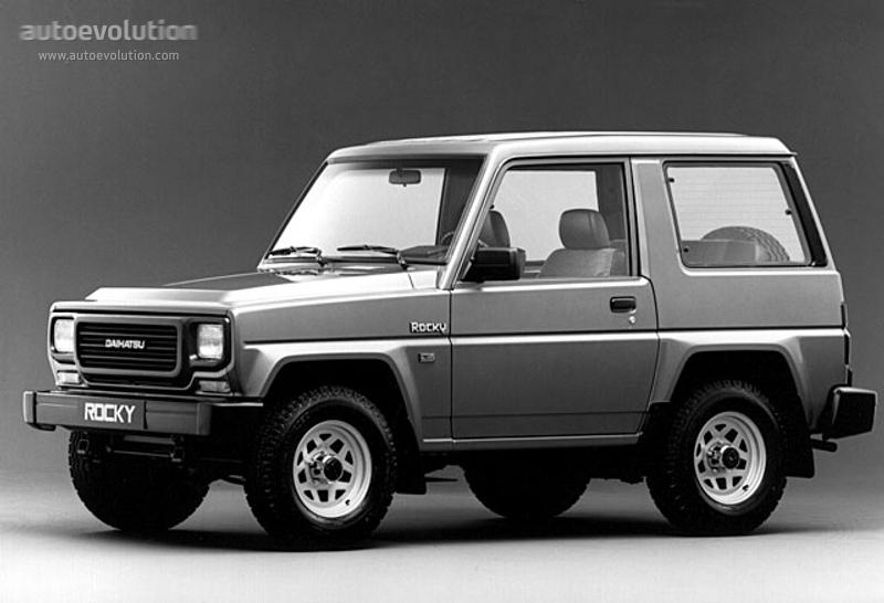 Daihatsu Rocky 1989 - 1998 SUV #4