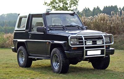 Daihatsu Rugger I 1984 - 1992 SUV 3 door #4
