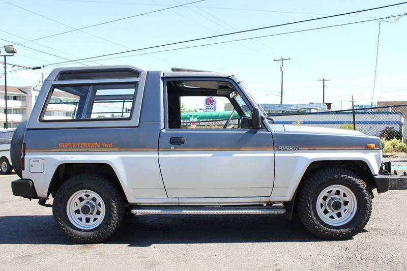 Daihatsu Rugger I 1984 - 1992 SUV 3 door #2