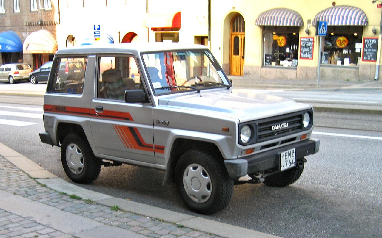 Daihatsu Rugger I 1984 - 1992 SUV 3 door #3
