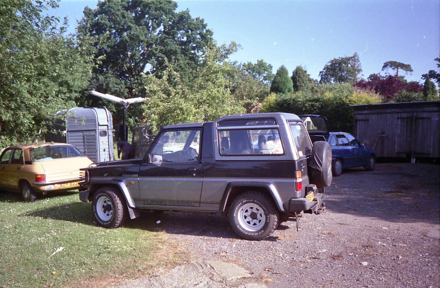 Daihatsu Rugger I 1984 - 1992 SUV 3 door #1