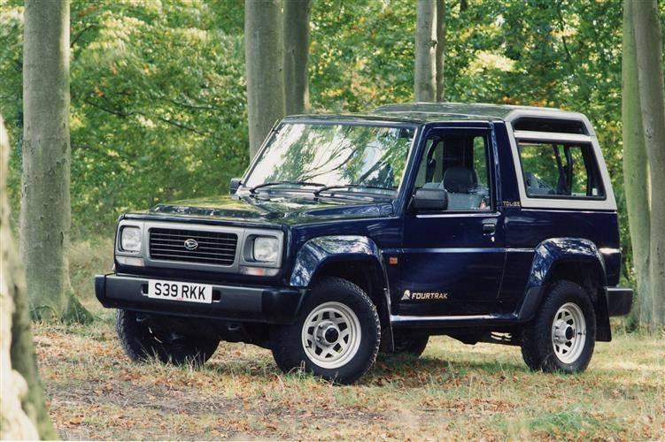 Daihatsu Rugger II 1993 - 2002 SUV 3 door #4