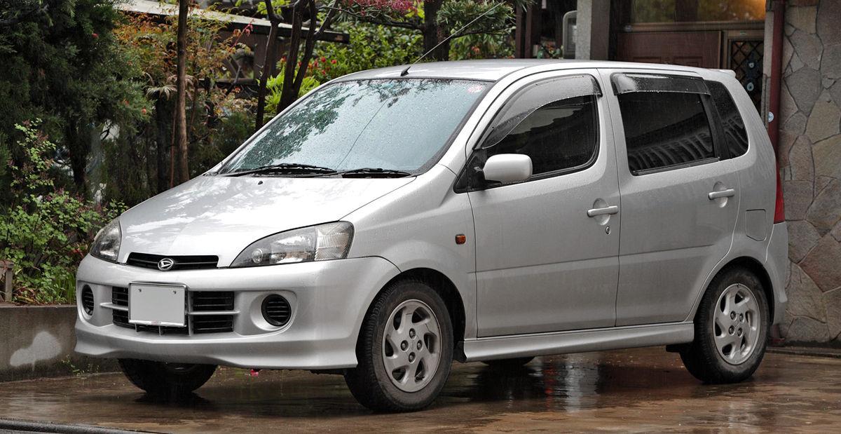 Daihatsu YRV 2002 - 2005 Compact MPV #6