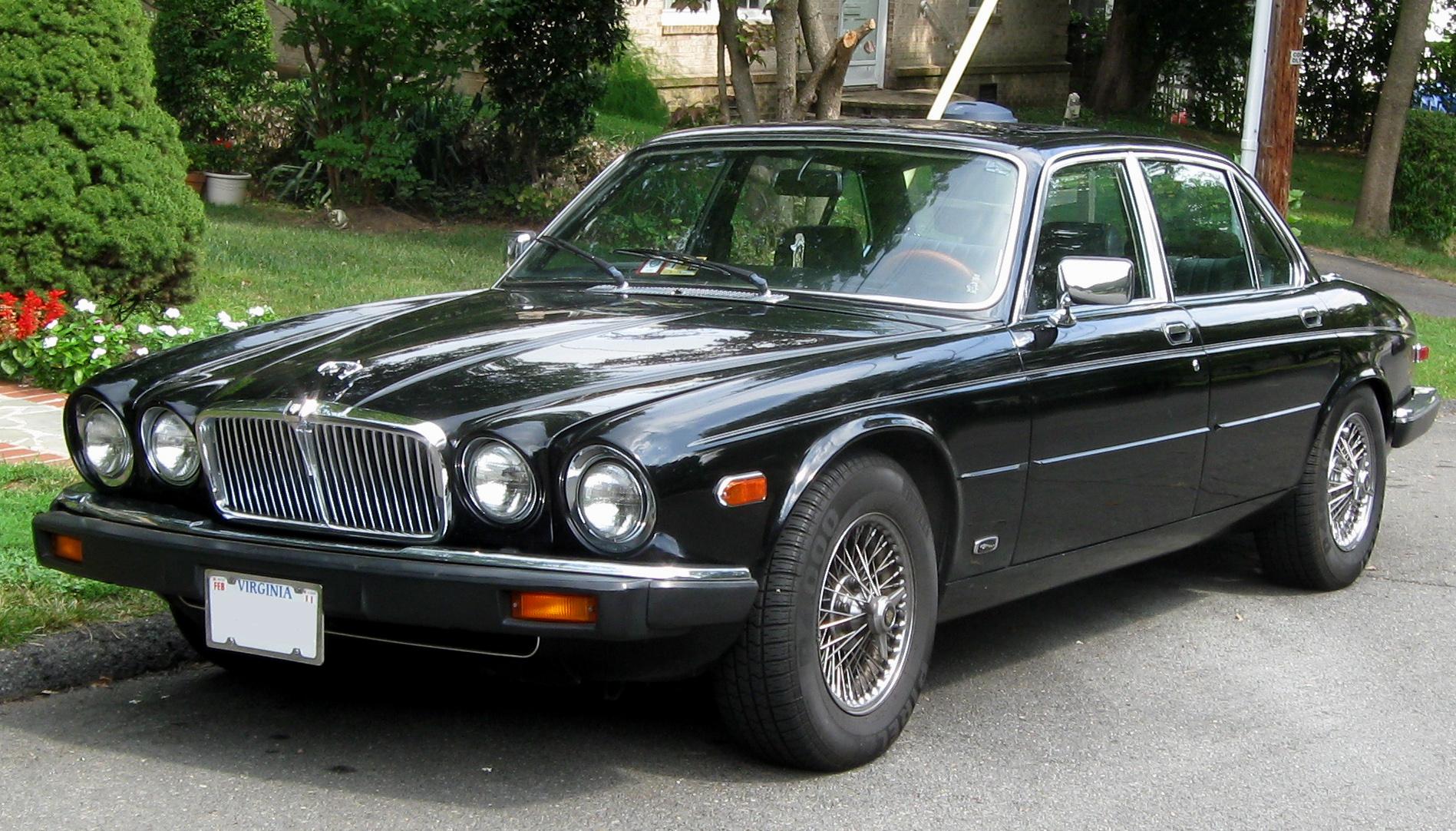 Jaguar XJS Series 2 1981 - 1992 Coupe #3