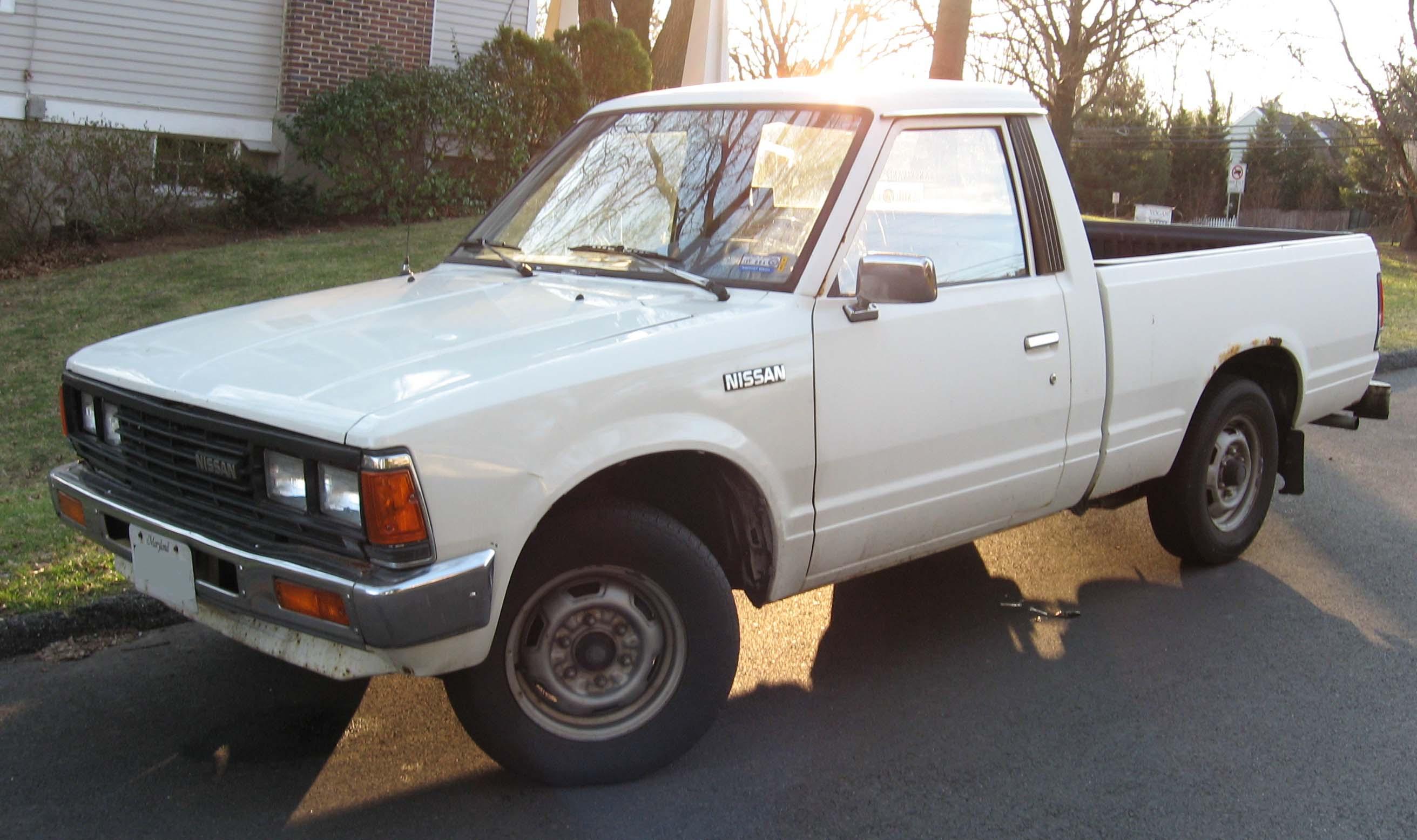 Datsun 720 1980 - 1986 Pickup #7