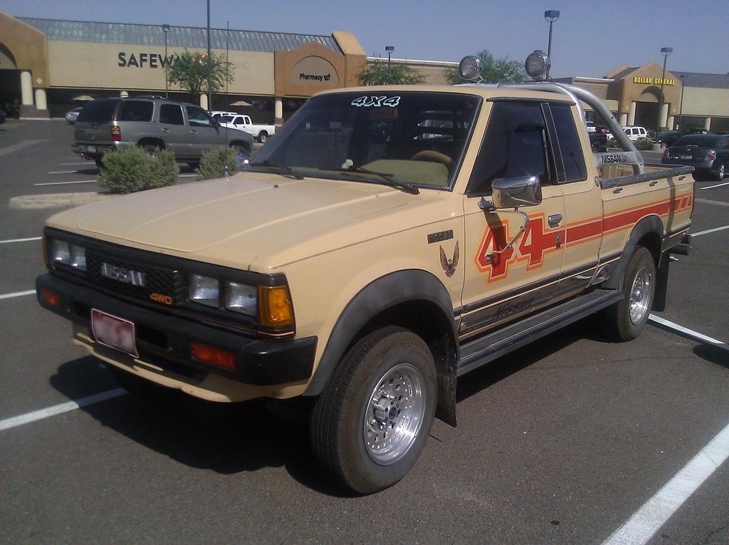 Datsun 720 1980 - 1986 Pickup #4