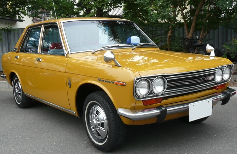 Nissan Bluebird IV (610) 1971 - 1976 Sedan #2