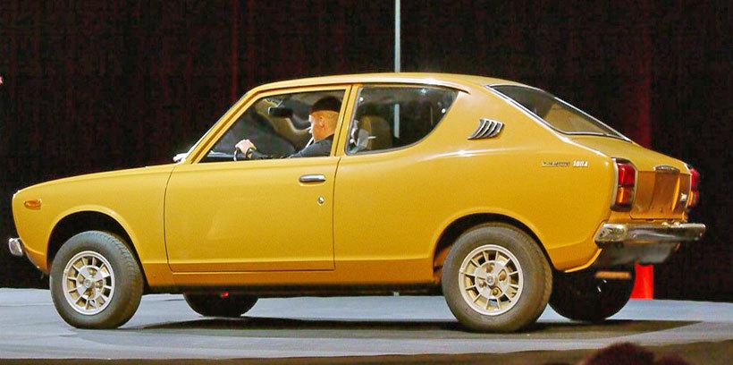 Datsun Cherry I 1970 - 1974 Coupe #5