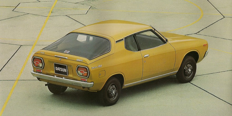 Datsun Cherry II 1974 - 1978 Coupe #2