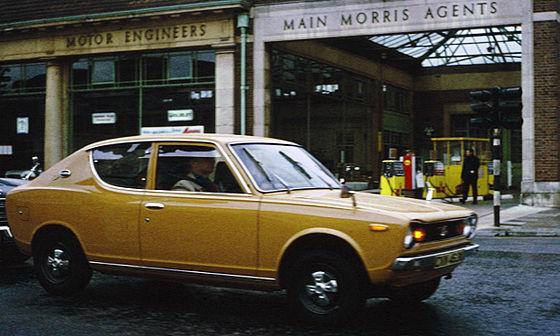 Nissan Cherry II (F10) 1974 - 1978 Station wagon 3 door #1